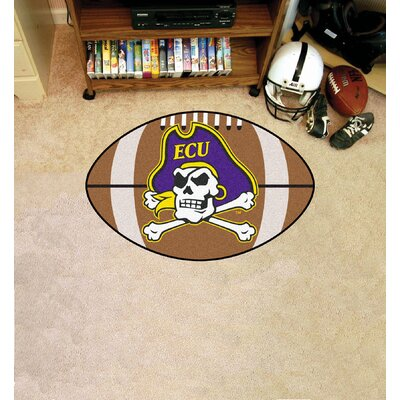 NCAA East Carolina University Football Doormat