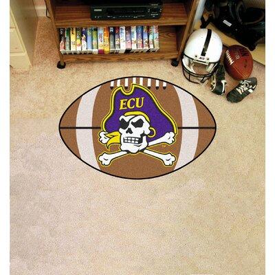 NCAA East Carolina University Football Doormat