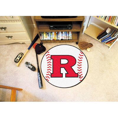 NCAA Rutgers University Baseball Mat