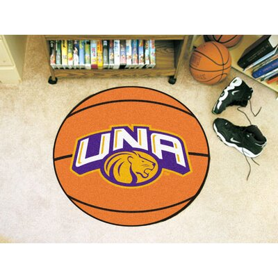 NCAA University of North Alabama Basketball Mat