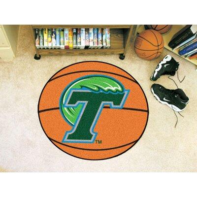 NCAA Tulane University Basketball Mat