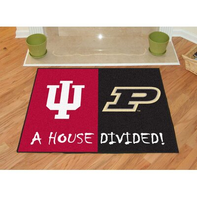 NCAA House Divided: Indiana / Purdue House Divided Mat