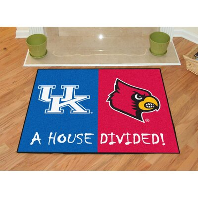 NCAA House Divided: Kentucky / Louisville House Divided Mat