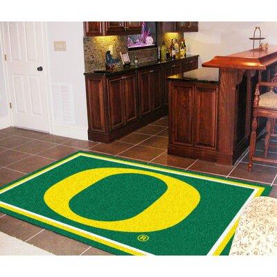 NCAA University of Oregon Rug Rug Size: 5 x 78