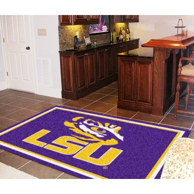 NCAA Louisiana State University Rug Rug Size: 310 x 6