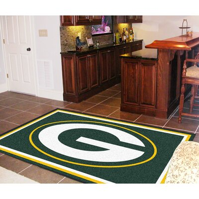NFL - Green Bay Packers Rug Rug Size: 5 x 8