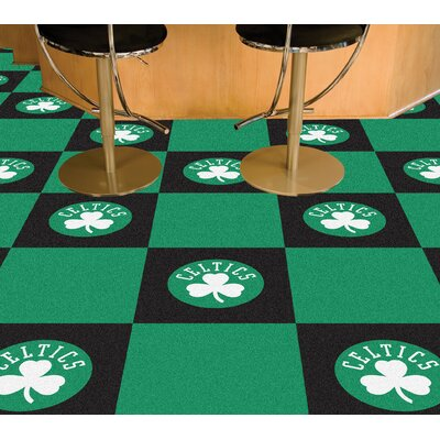 NBA - Washington Wizards Team Carpet Tiles NBA Team: Boston Celtics