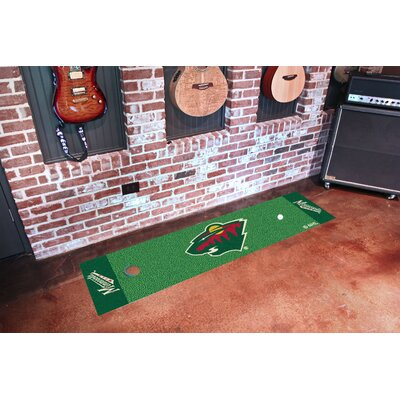 NHL - Minnesota Wild Putting Green Doormat