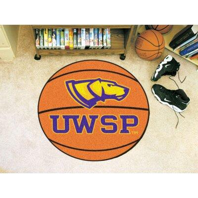 NCAA University Of Wisconsin-Stevens Point Basketball Mat