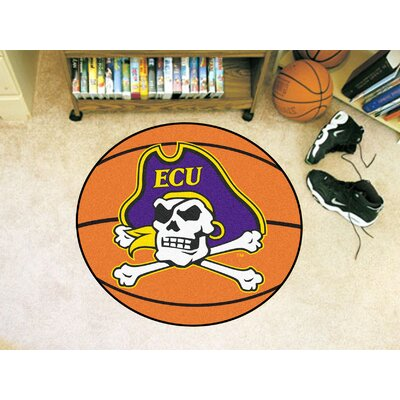 NCAA East Carolina University Basketball Mat