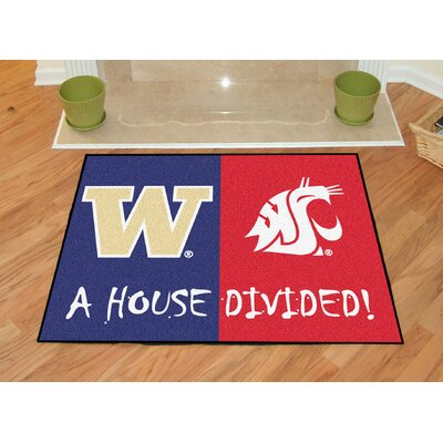 NCAA House Divided: Washington / Washington State House Divided Mat