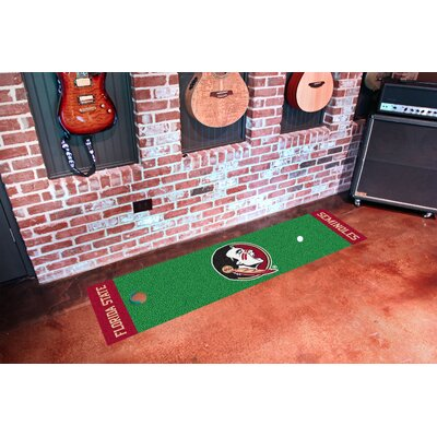 NCAA Florida State University Putting Green Doormat