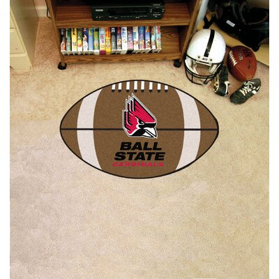 NCAA Ball State University Football Doormat