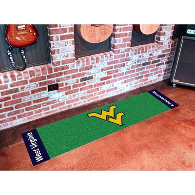 NCAA West Virginia University Putting Green Doormat