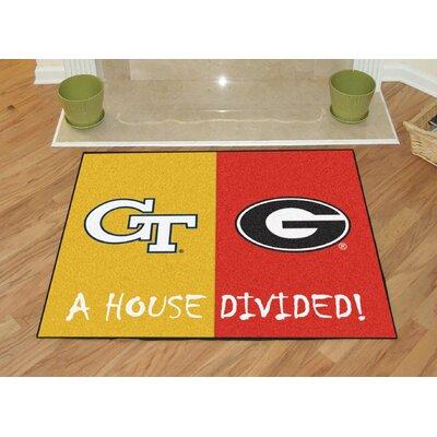 NCAA Mat NCAA Team: Georgia Tech / Georgia House
