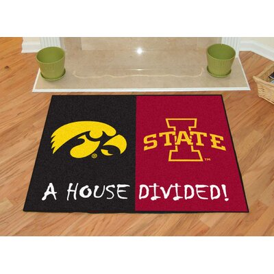 NCAA House Divided: Iowa / Iowa State House Divided Mat