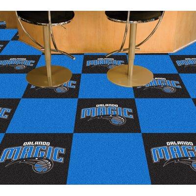 NBA - Washington Wizards Team Carpet Tiles NBA Team: Orlando Magic