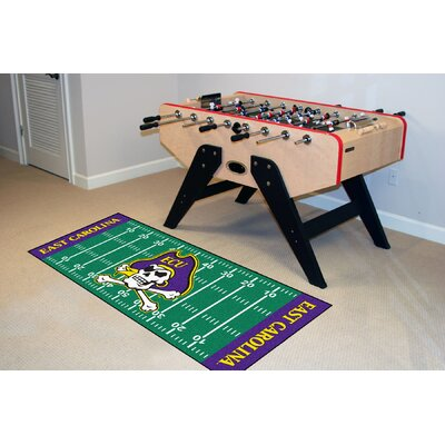 NCAA East Carolina University Football Field Runner