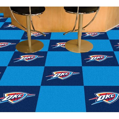 NBA - Washington Wizards Team Carpet Tiles NBA Team: Oklahoma City Thunder