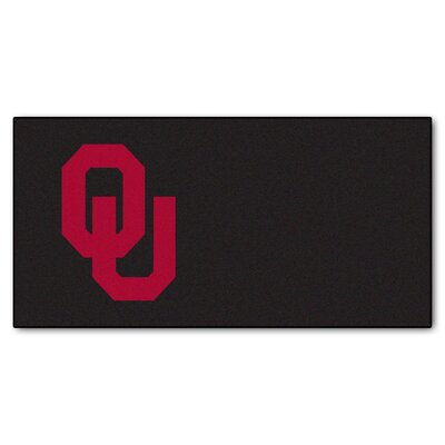 Collegiate 18 x 18 Carpet Tiles in Multi-Colored NCAA Team: Oklahoma