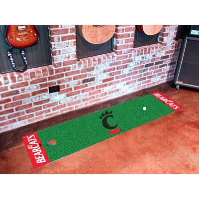 NCAA Syracuse University Putting Green Mat NCAA Team: University of Cincinnati