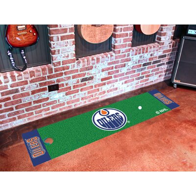 NHL - Edmonton Oilers Putting Green Doormat