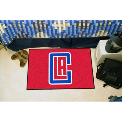 NBA - Los Angeles Clippers Doormat Rug Size: 5 x 8