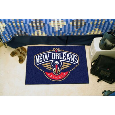 NBA - New Orleans Pelicans Doormat Mat Size: Rectangle 17 x 26