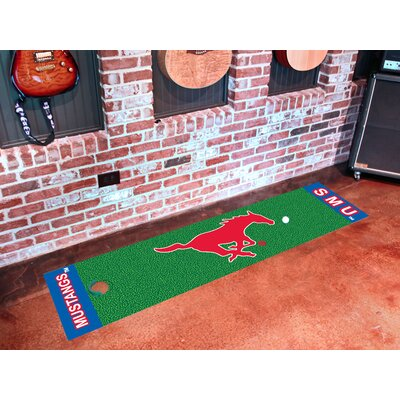 NCAA Southern Methodist University Putting Green Mat