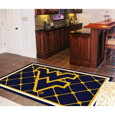 NCAA West Virginia University Rug