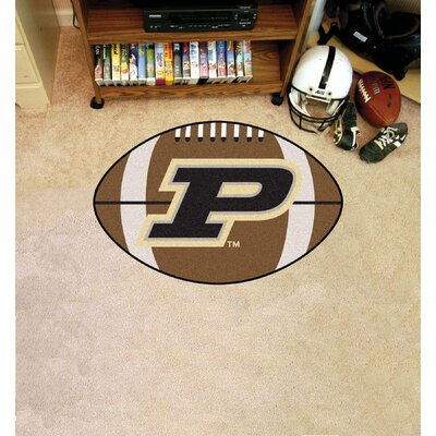 NCAA Area Rug NCAA Team: Purdue University