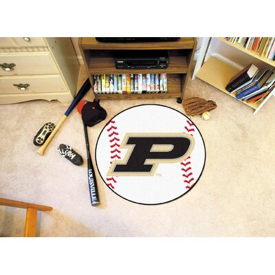 NCAA Purdue University Baseball Mat