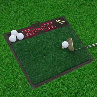 NCAA Florida State University Golf Hitting Mat
