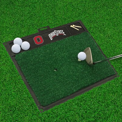 NCAA Ohio State University Golf Hitting Mat