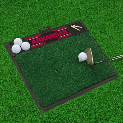 NCAA University of Arkansas Golf Hitting Mat