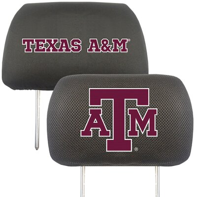 NCAA Head Rest Cover NCAA Team: Texas A&M