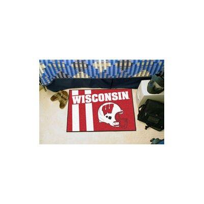 NCAA University of Wisconsin Starter Doormat