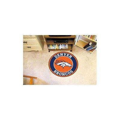 NFL Denver Broncos Roundel Mat