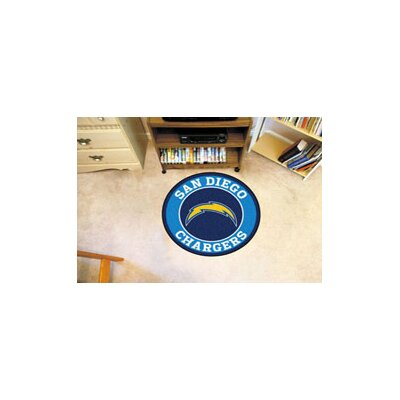 NFL San Diego Chargers Roundel Mat 17973