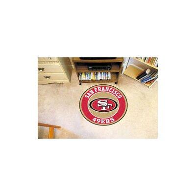 NFL San Francisco 49ers Roundel Mat