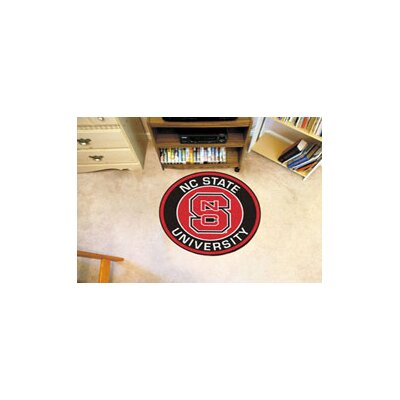 NCAA North Carolina State University Roundel Mat