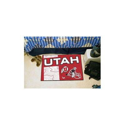 NCAA University of Utah Starter Mat