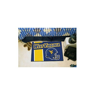 NCAA West Virginia University Starter Doormat