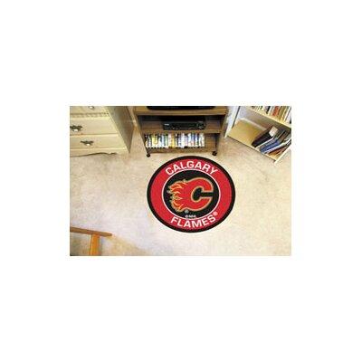 NHL Calgary Flames Roundel Mat