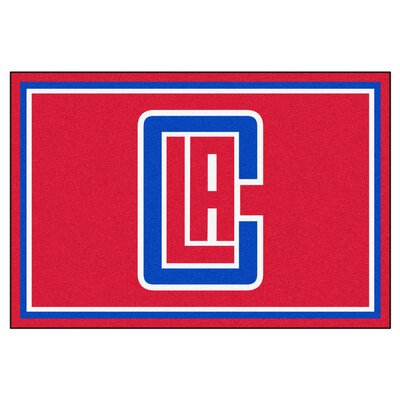 NBA - Los Angeles Clippers 5x8 Doormat