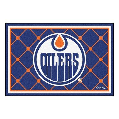 NHL - Edmonton Oilers Doormat Rug Size: 38 x 511
