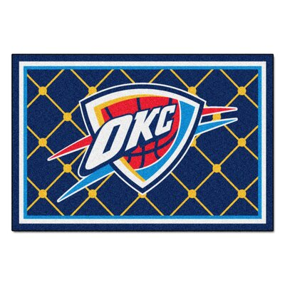 NBA - Oklahoma City Thunder 5x8 Doormat