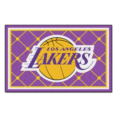 NBA - Los Angeles Lakers 5x8 Doormat