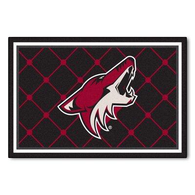 NHL - Arizona Coyotes 5x8 Doormat Mat Size: 5 x 78