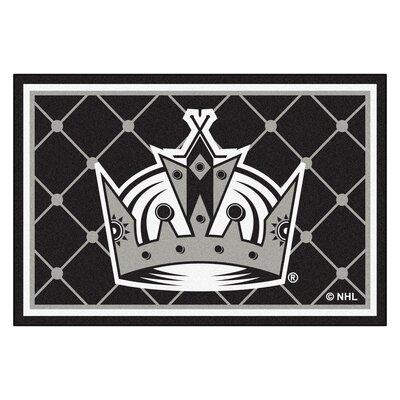 NHL - Los Angeles Kings 5x8 Doormat Mat Size: 5 x 78
